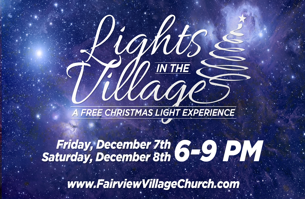 Lights In The Village - Christmas Light Event