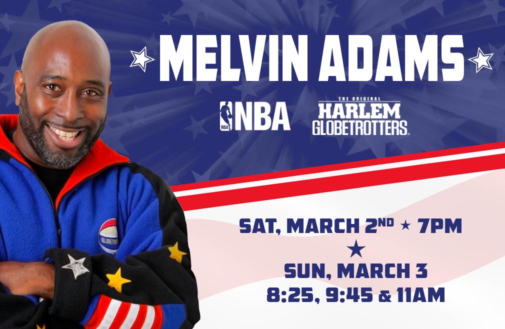 "Melvin ""Mr. Globetrotter"" Adams"